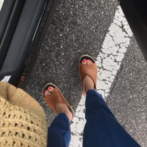 履ける靴、履けない靴。