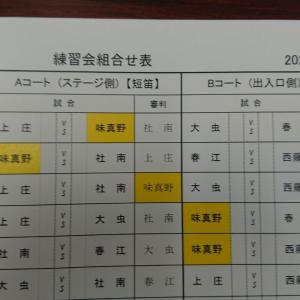西藤島男子練習会