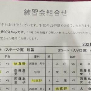 西藤島男子チーム練習会