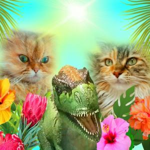 """やっぱり猫&""""恐竜ジュース☆彡"""""""