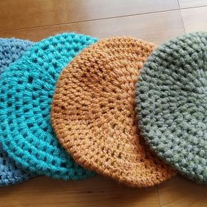 心を落ち着かせる効果  編み物