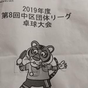 第8回中区団体リーグ