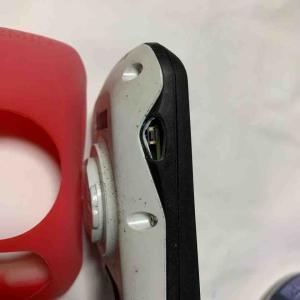 ガーミンのスイッチが壊れたので補修してみた!