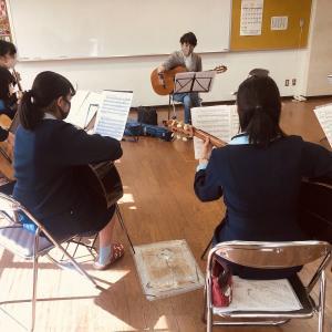 「広島県中学高校ギターマンドリンフェスティバル合同演奏練習会 」