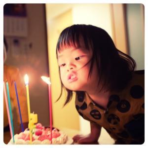5歳のお誕生日