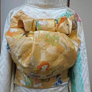 袋帯の結び方 お太鼓系アレンジ