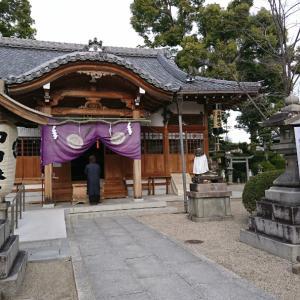 野見神社 年内最終