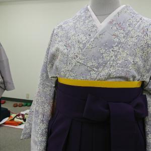 卒業式 女子袴の着付け 畳み方