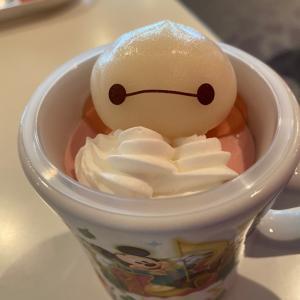 新エリアのカップを購入〜枯葉ミッキーを発見!