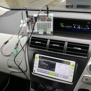F28まで押せるコントローラの検討 GPS取り付けの検討 その2
