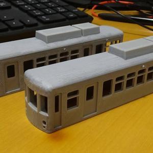 江ノ電300形をモデリングしてみる。その3