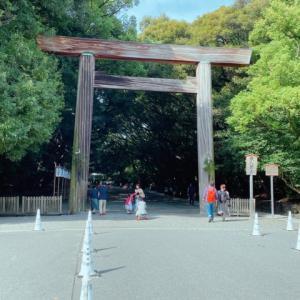 熱田神宮・上知我麻神社から名古屋城へ