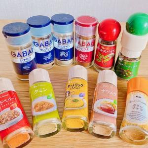 スパイス料理とスープ2種
