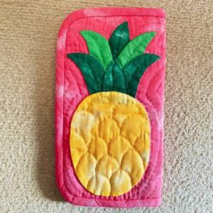 キャシーといっしょにハワイアンキルトVol.44~47 パイナップルのトラベルケース
