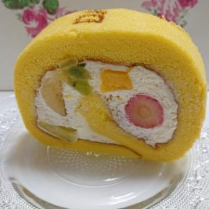 ダイワ果園 高島屋堺店★再訪★果物たっぷりロールケーキが美味しい★