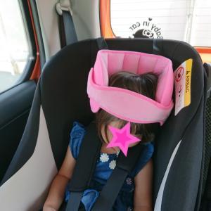 首かっくん防止購入★チャイルドシート用★2歳7ヶ月の娘★