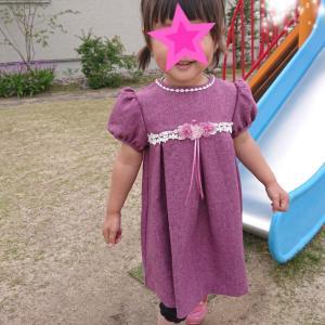 1人で着替えたいお年頃★2歳8ヶ月の娘★