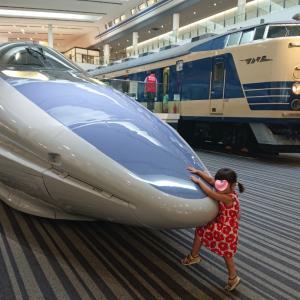 京都鉄道博物館へ行って来ました★鉄道満喫★2歳11ヶ月の娘★