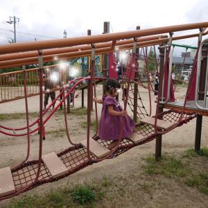 京都梅小路公園の遊具が立派★旦那の愚痴&変化★2歳11ヶ月の娘★