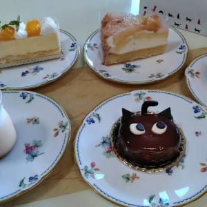 シャノワールの可愛い黒猫ケーキ★