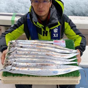 2月16日(日)タチウオ遠征便