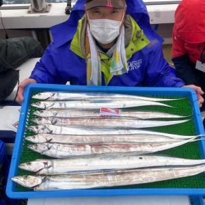 1月23日タチウオ遠征便