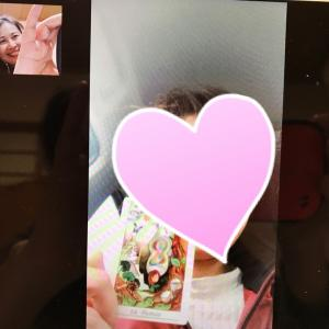 【LINEビデオ通話】でもひらめくカードカウンセリング可能です!!