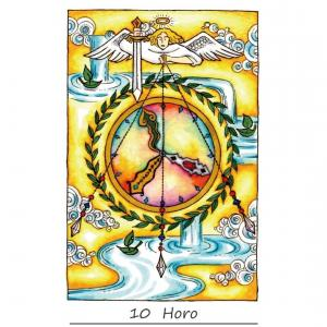 【今日のひらめくカード】2020年10月7日「10.時」のカード