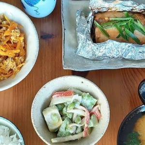 Gave Japanese cooking workshop yesterday. Participants enjoyed very much. Salmon miso grill, edamame & avogado in wasabi sauce, carrot in Okinawa style, potato & spinach miso soup and rice. #tokyodollnlcookfishmain #japanesecooking #japanesecuisine #washoku #wasabi #japanseten #lekkerkoken #lekkereten #salmon #misosoup #miso #carrot #zalm #confortfood #avogado #teishoku #おうちごはん #oishi #itadakimasu #にんじんしりしり