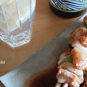 Lemon sour. Popular Izakaya drink in Japan consisting of lemon, soda and shochu or vodka. #tokyodollnlcookmeat #Japanesefood #japanesecuisine #izakaya #shochu #vodka #japanesedrink #sour #lemonsour #yakitori #sate #chiken #cocktails #lemonade #レモンサワー #おうち居酒屋 #焼き鳥 #satsuma #sake #japanseten #lekkereten #さつま白波