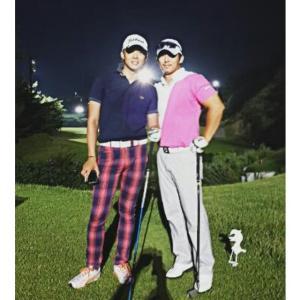 ユチョン×ゴルフ
