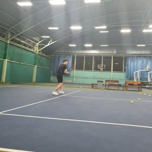 テニスでリフレッシュ~♪