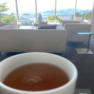 福岡県篠栗町、山中にある絶景の茶房わらび野でオサレカフェおじさん。