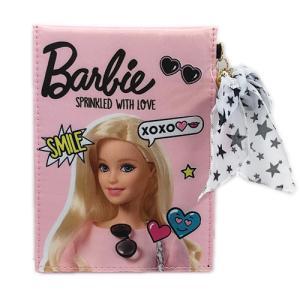 バービーの化粧ミラー、クリアケース-Barbieサテンコスメミラー