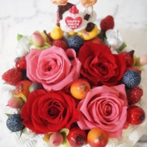 ミッキーマウス ミニーマウス 誕生日 花束 フラワーギフト