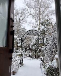 清里高原 積雪10センチ 春はゆっくりと~
