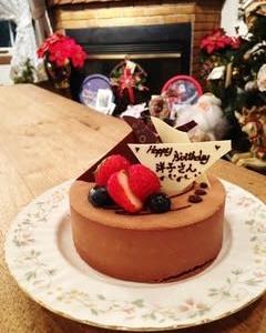 七夕イブはステラのお誕生日~絆~プレゼント アルチザンパレドオールのケーキ & 綺麗グッズ