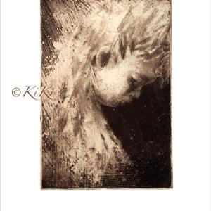 うーやんダイアリー キキのライフワークの一つ♪銅版画のバレエの少女♡