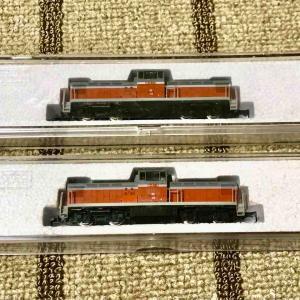 KATO DD13 品番N701と701比較 1