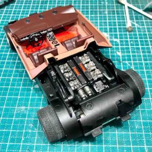 タミヤ カウンタックLP500Sを作る9