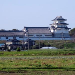 県立関宿城博物館と関宿城本丸跡