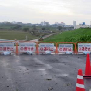 青山台交差点入口 農免道路の状況を見てから無量院へ