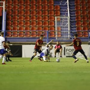 U21スペイン対U21ロシア(於:Almendralejo)