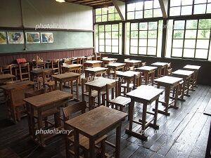 昭和レトロ 学校の教室 仙北市 田沢湖町 潟分校