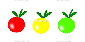 トマト イラスト フリー素材