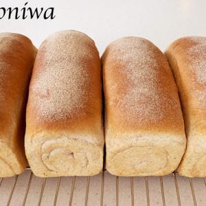はったい粉を使った食パン&ワッフル