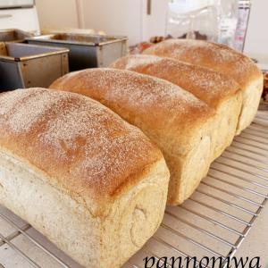 はったい粉を使った食パン&ワッフルレッスン