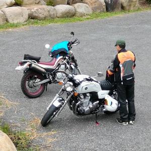 バイクで石尊山観音寺