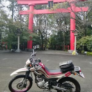 バイクで冠稲荷神社⑧