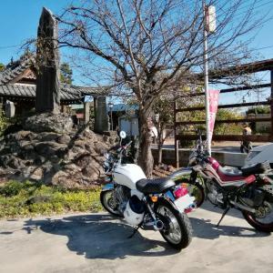 バイクで世良田八坂神社⑬